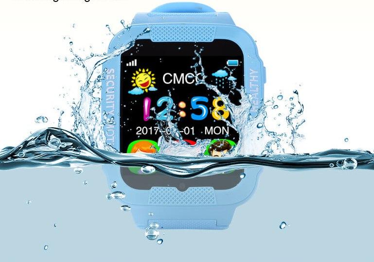 Детские GPS часы с водозащитой smart watch K3 kids (черный) по хорошей цене в магазине Shopmz!