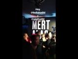 Белла и Джиджи на вечеринке Мерта и Маркуса, Нью-Йорк (07.09.17)