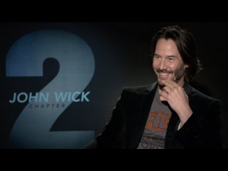 JOHN WICK 2 interviews - Keanu Reeves, Laurence Fishburne, Common - The Matrix