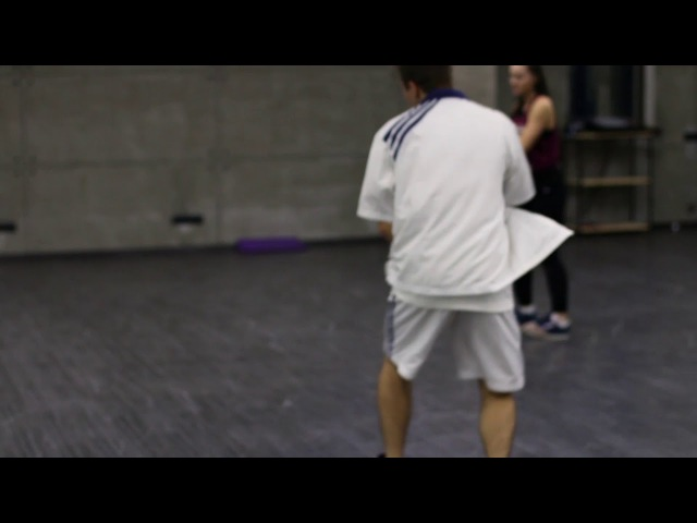 Choreography by Mirzoev Mirzo in blockbuster studio