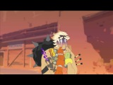 Two Anas, one Junkrat (Overwatch Animation sfw)