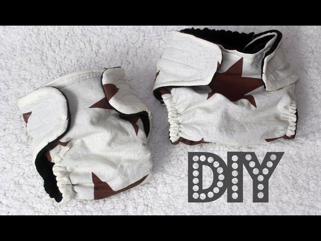 DIY Как сшить многоразовый подгузник для ребенка своими руками Построение выкройки