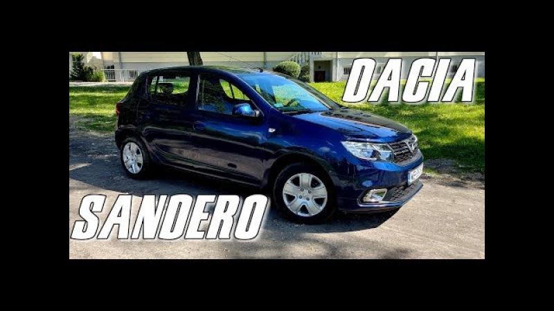 Dacia Sandero (2017) 1.0L / 73KM - test, recenzja taniego, praktycznego auta