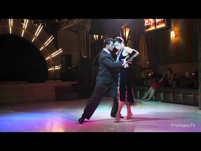 Julia Gorin и Jonatan Baez, 2-3, Russia, Moscow, Prischepov Milonga 05.10.2015