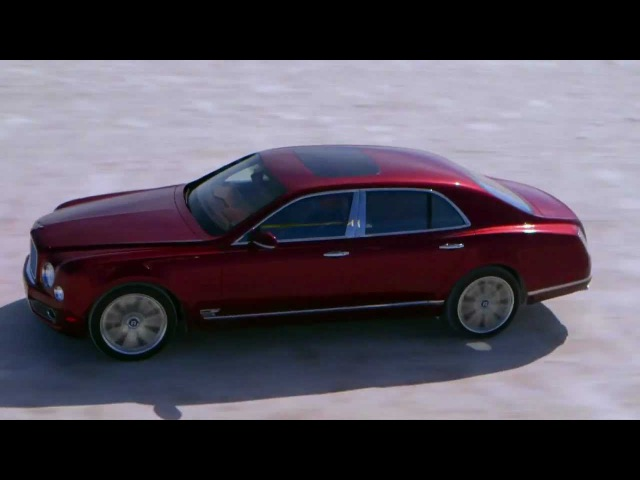 Bentley Mulsanne Visionaries - The Future of Speed with Wing Cdr Andy Green Media Cut