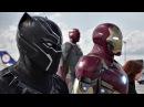 Битва в аэропорту. Часть 2. Человек-паук против Капитана. Первый мститель: Противостояние. 2016