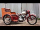 Ява Рикша 350. Бешеный трайк на базе мотоцикла Jawa 350 Perak Riksa