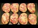 Пицца бутерброды за 10 минут Сочная начинка на хрустящем батоне
