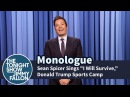 Sean Spicer Sings I Will Survive, Donald Trump Sports Camp - Monologue