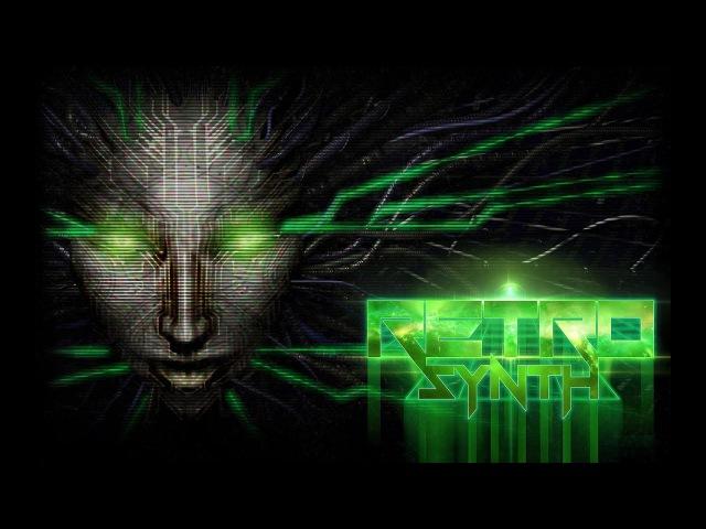 Powerwalker Energy Systems System Shock Cover RetroSynth Records 2017 Darksynth Cyberpunk