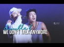 double b | we don't talk anymore