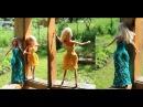 Одежда для куклы Барби. Платье Зигзаг крючком. Поробный мастер-класс.
