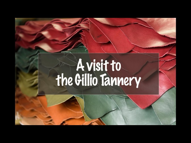 A visit to the Gillio Tannery