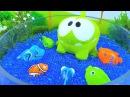 Ам Ням/мягкие игрушки! Детское видео про АмНям мультик! Игрушки для детей: корми