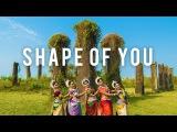 Indian Odissi Classical Dance  Ed Sheeran - Shape Of You