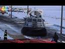 В Архангельск продемонстрировали чудо-технику: судно-амфибия на воздушной подушке