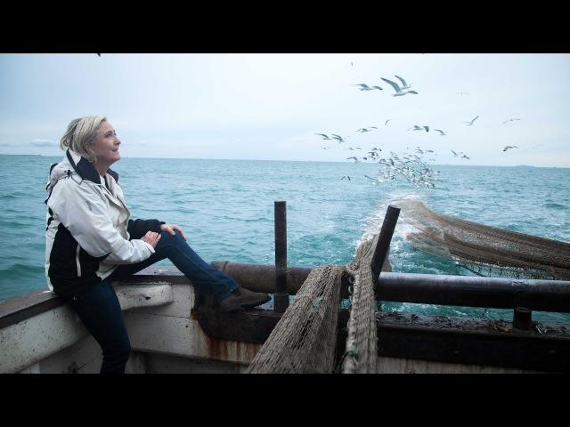 Marine Le Pen auprès des travailleurs de la Mer au Grau-du-Roi | Marine 2017