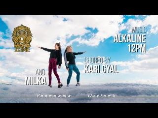Alkaline - 12 PM (Kalibandulu & Walshy Fire Remix) | Dancehall Choreo by Kari Gyal & Milka