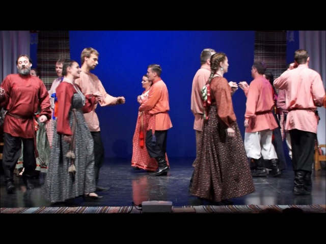 Ансамбль Забава: танцы Саратовской области (Златые горы, На реченьку, Светит месяц).