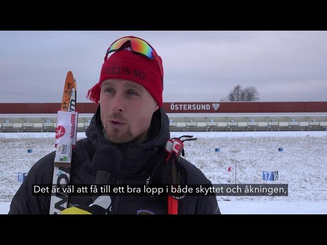 Кристофер Эрикссон и Элизабет Хёгберг о победе в спринте на открытии сезона в Швеции (19.11.2017)
