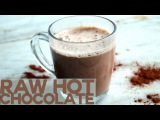 Рецепт горячего шоколада без молока - Полезный, веганский, без глютена. Raw Dairy Free Hot Chocolate Recipe - Vegan, sugar free, gluten free &amp healthy