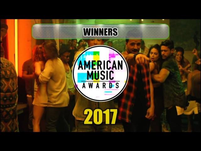 American Music Awards 2017 - Winners [AMA's 2017]