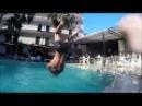 Турция Кемер Вечерний басейн в отеле. Айбелин отель : )