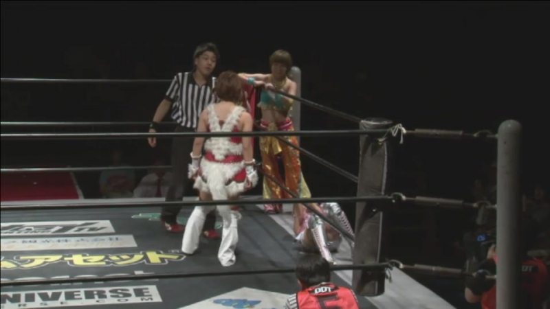 Azusa Takigawa, Nonoko vs. Shoko Nakajima, Yuka Sakazaki (TJP - Shinkiba de Bakon)