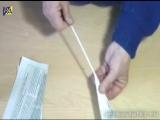 Видео-урок 1. Как правильно крутить газетные трубочки.