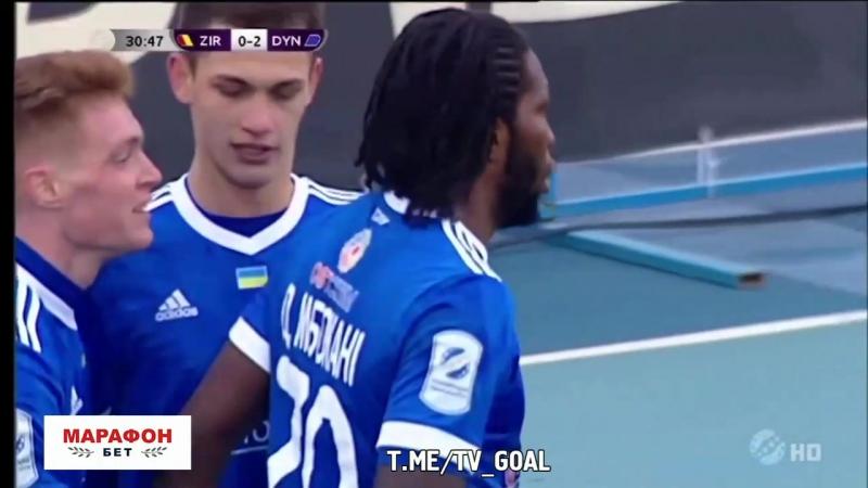 Зирка 0:2 Динамо Киев | Мбокани