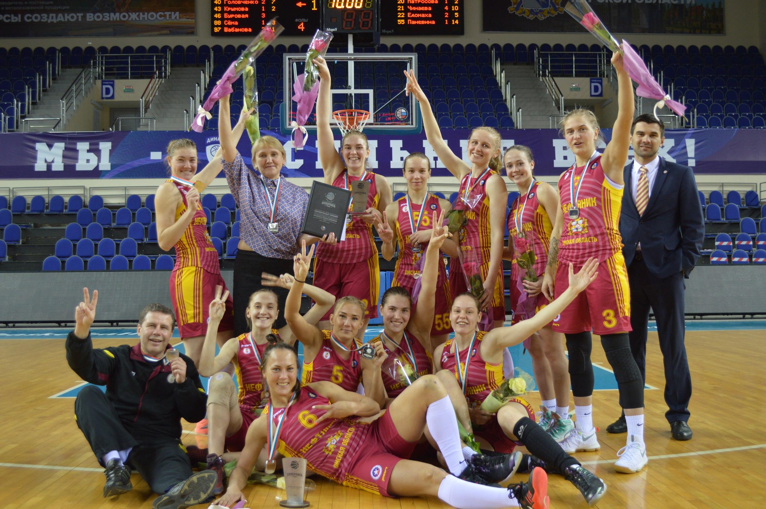 «Нефтяник» серебряный призёр Суперлиги!