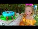 ДЕНЬ РОЖДЕНИЯ Настя съела ЩЕНЯЧИЙ ПАТРУЛЬ Исполняем БЕЗУМНОЕ желание Видео для детей Игрушки Патруль