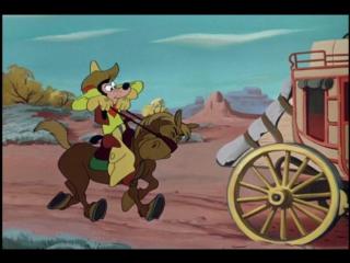 Гуфи - Два пистолета Гуфи (16.5.1952) (Гуфи доблестный ковбой, два ствола, Two Gun Goofy)