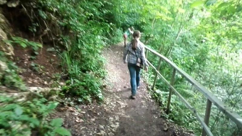 Агурское ущелье - долгий путь домой