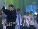 YG Family (G-Dragon, TaeYang) - A-Yo [2002.01.26 Inkigayo]