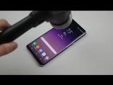 Samsung Galaxy S8 Plus - Тест молотком и ножом)))