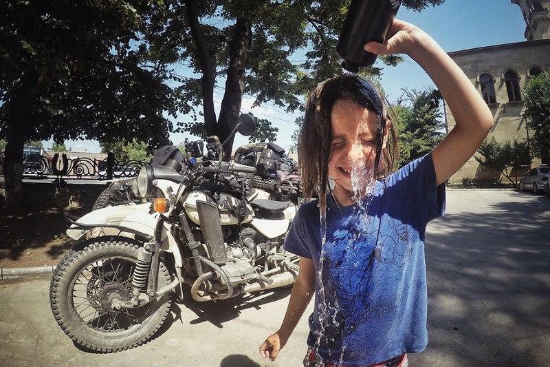 k76Ll kDrQ4 - Путешествие по Грузии и Армении на «Урале» с коляской