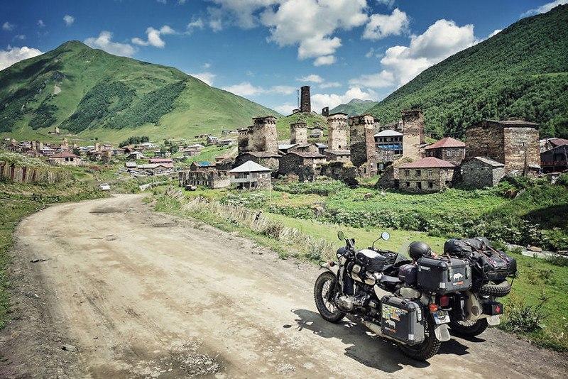 Ftr913M2Vfs - Путешествие по Грузии и Армении на «Урале» с коляской