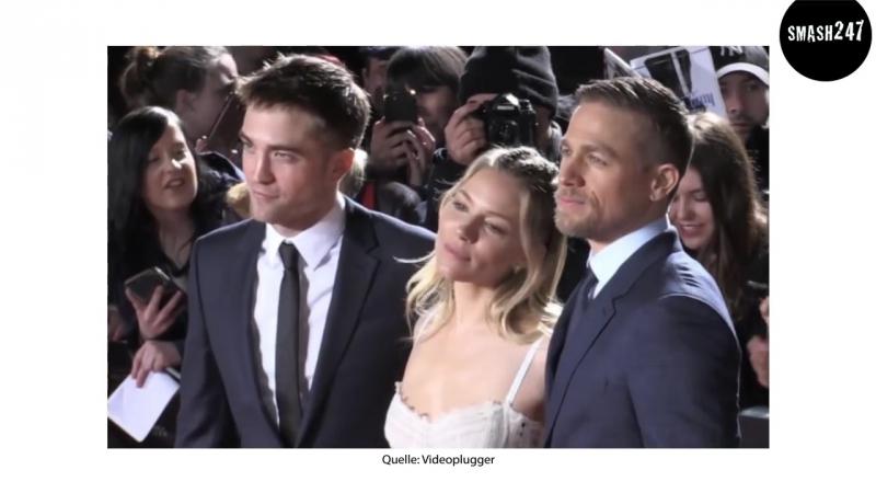 """Charlie Hunnam Robert Pattinson_ Premiere von """"Die versunkene Stadt Z"""""""
