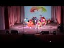 """Танец с зонтиками БДОУ """"Любинский детский сад №4"""" Любинского муниципального района Омской области"""