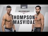 UFC 217 Полусредний вес Стивен Томпсон — Хорхе Масвидал