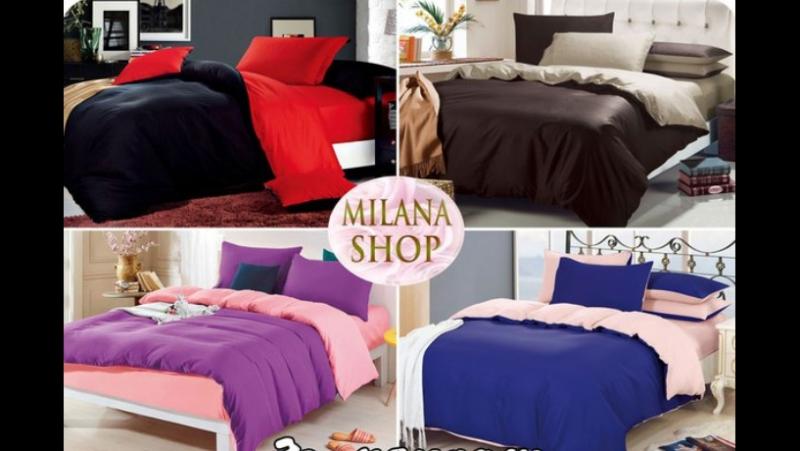 Шикарный комплект постельного белья от Интернет-магазина модной одежды MILANA SHOP