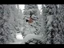 Акробатика на горных лыжах голышом