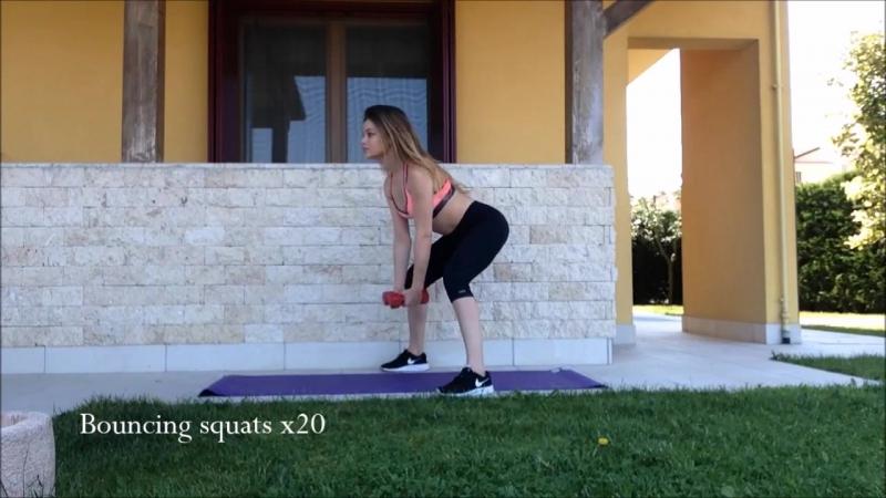 Тренировка для НОГ и ЯГОДИЦ _ упражнения для ДЕВУШЕК в домашних условиях! _ LEGS BUTT workout