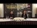Стас Михайлов и Елена Север: пресс-конференция в Петербурге