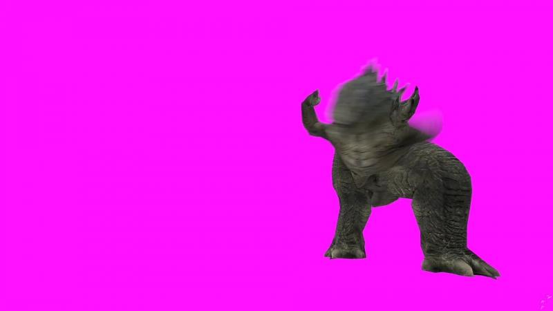 танцующий динозавр