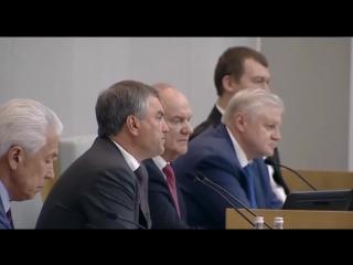 Саша Спилберг в Госдуме Российской Федерации. Законы будут