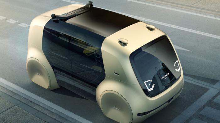 1Gd0gE8PC9A Футуристический Sedric - автономный автомобиль будущего от Volkswagen