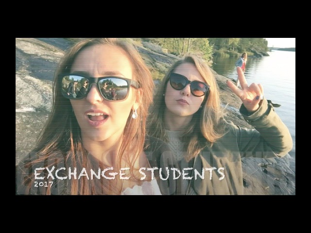 Finnish diary. Exchange students in Finland, Lappeenranta.