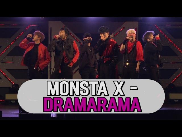 몬스타엑스(MONSTA X) - DRAMARAMA 무대 STAGE (171107 MONSTA X COMEBACK SHOWCASE)